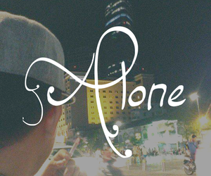 alone, boy, and but image