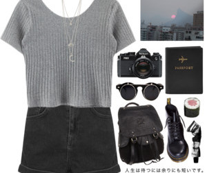 aesthetic, black, and clothing image
