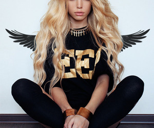 hair, model, and angel image
