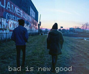 bad, grunge, and good image