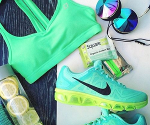 fitness, n, and nike image