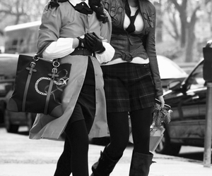 fashion, goals, and gossip girl image