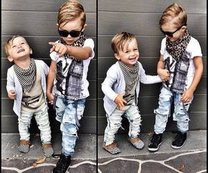 boy, fashion, and baby image