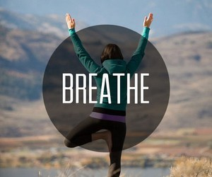 fitness, breathe, and fit image