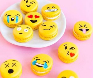 emoji, food, and yellow image
