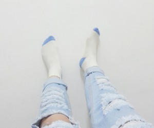 blue, pale, and bambi image