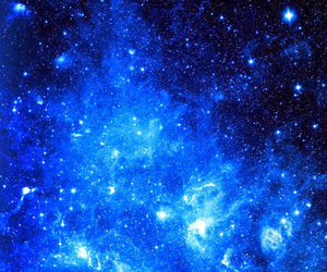 wallpaper, blue, and galaxy image