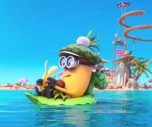 minions and summer image