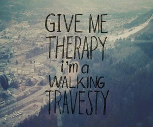 all time low, therapy, and quote image