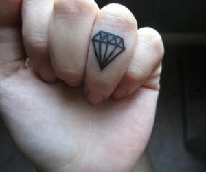 black, grunge, and tattoo image