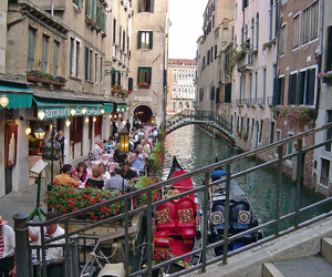 italy, venice, and water image