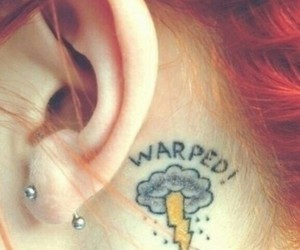 hayley williams, tattoo, and hair image
