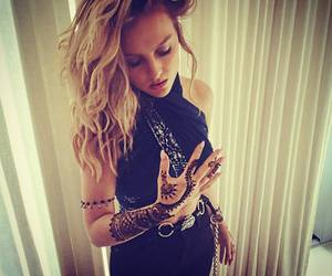 little mix, perrie edwards, and henna image
