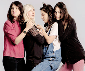 warpaint, emily kokal, and theresa wayman image
