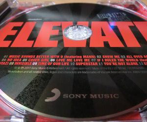 cd, big time rush, and elevate image