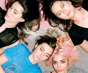 warpaint, theresa wayman, and emily kokal image