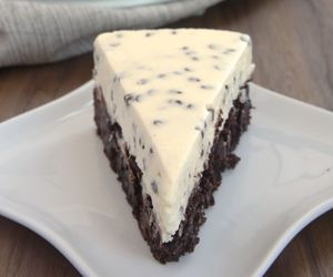 cheesecake, chocolate, and delicious image