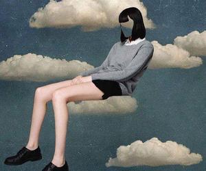 alternative, grunge, and cloud image