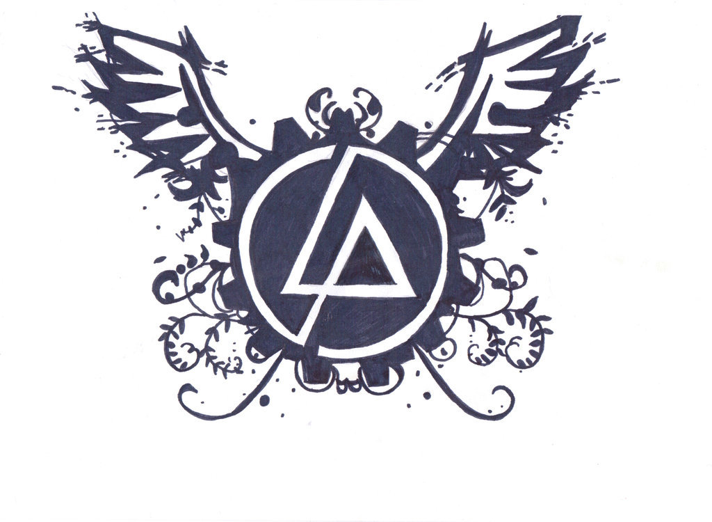 Linkin Park Logo Draw Shared By Ashes On We Heart It