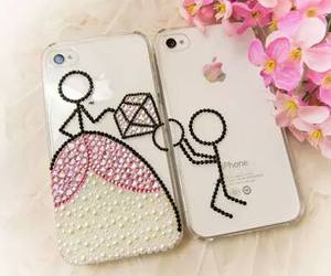 iphone, case, and couple image
