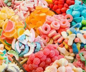 background, candy, and colors image