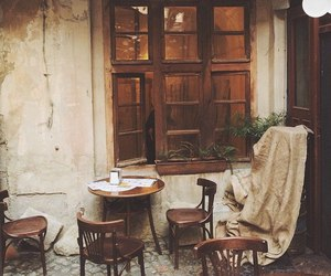 cafe, lviv, and vintage image