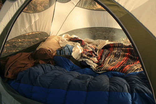 camping, tent, and camp image