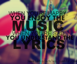 music, quote, and Lyrics image