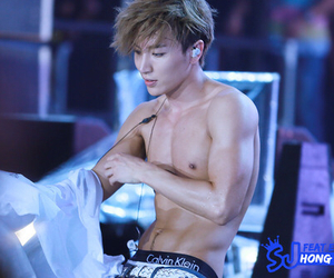 abs, hot boys, and idol image