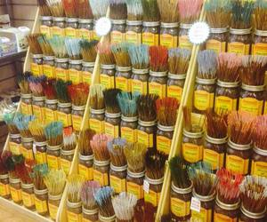heaven, incense, and shop image