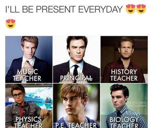 school, teacher, and Hot image