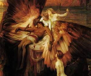 gorgeous, painting, and wings image