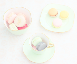 food, ‎macarons, and cute image