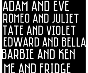 adam and eve, black and white, and lol image