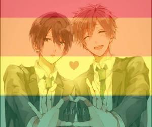 Boys Love, free!, and makoto tachibana image