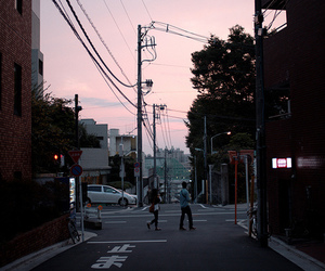 city, street, and japan image