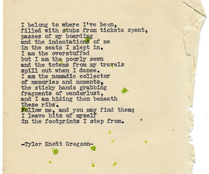 tyler knott gregson and typewriter poetry image