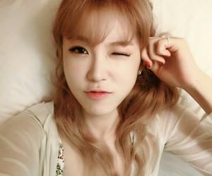 beautiful, hyoseong, and girl image