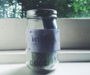 adventure, jar, and money image