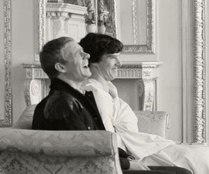 sherlock, john watson, and benedict cumberbatch image