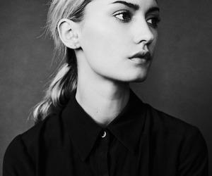 beautiful, black and white, and fashion image