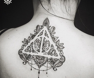 tattoo, harrypotter, and hp image