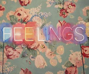 feelings, flowers, and vintage image