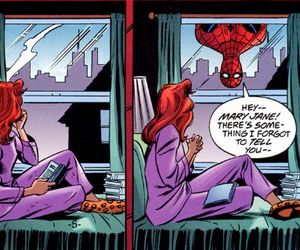 couple, otp, and spider-man image