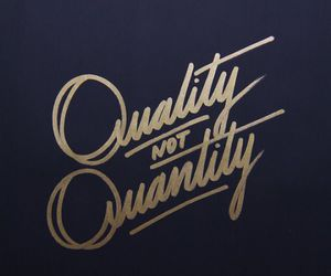 quality, quotes, and quantity image