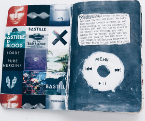 music, bastille, and art image
