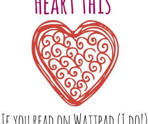 heart, wattpad, and my uploads image