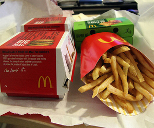food, delicious, and French Fries image