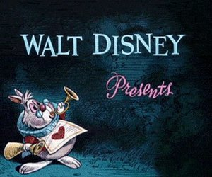alice in wonderland, disney, and walt disney image