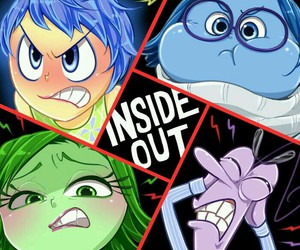 disney and inside out image